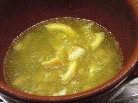 Molho de Manteiga e Limão que delícia nas batatinhas