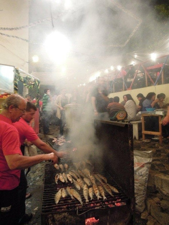 Grafe e Faca Sardinhas na noite de Santo Antonio