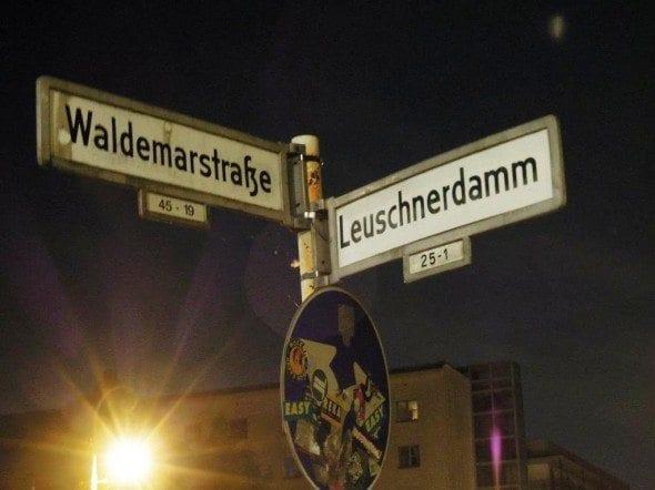 Grafe e Faca Terra das Bolas de Berlim