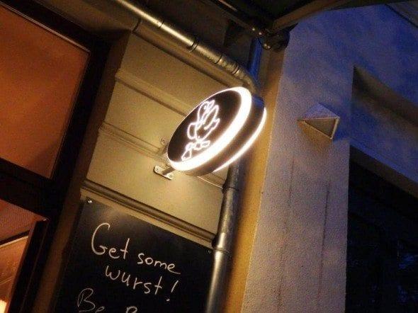 Grafe e Faca Mais um restaurante alemão