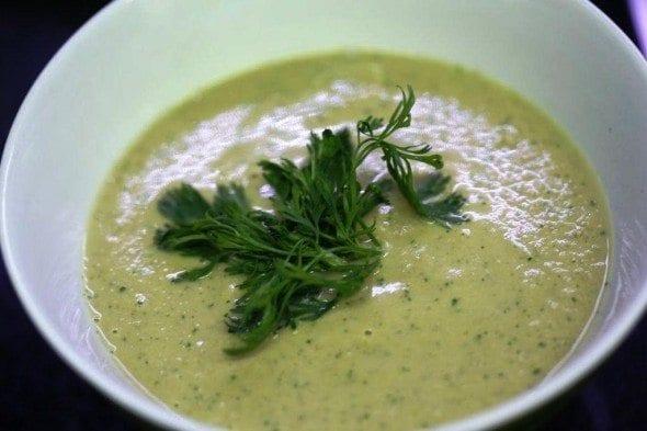 Grafe e Faca Sopa de favas guisadas