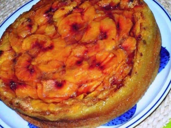 Grafe e Faca Bolo de Pessego10 bolo de pêssego Bolo de Pêssego, uma pessegada maravilhosa Grafe e Faca Bolo de Pessego10 590x442