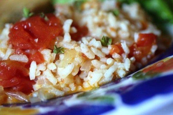 Grafe e Faca Arroz de Tomate com lima