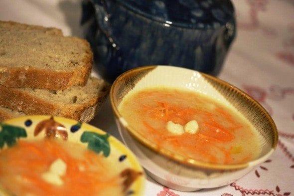Grafe e Faca creme de couve flor e cenoura1