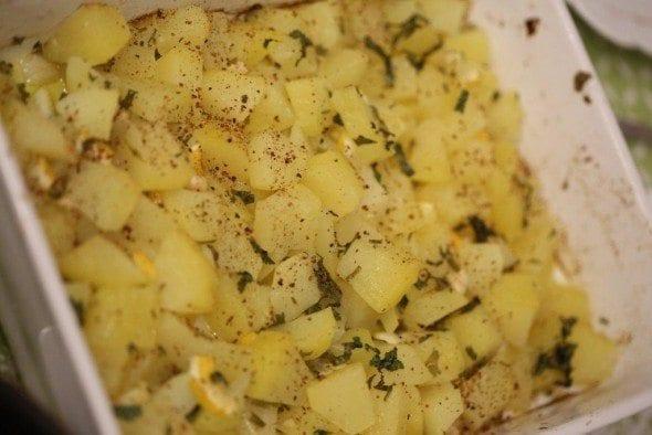 Grafe e Faca Batatas Amanteigadas com alho e coentros (4)