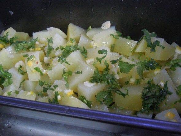 Grafe e Faca Batatas Amanteigadas com alho e coentros (5)