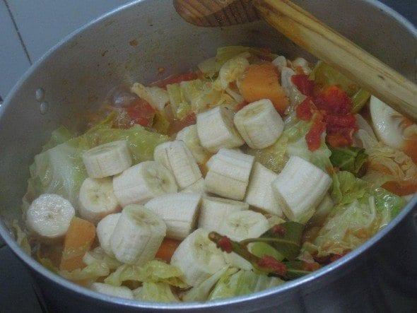 Cachupa Vegetariana com Fruta (6)