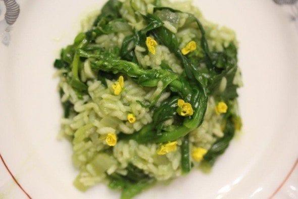 Grafe e Faca Risoto verde de grelhos (3) risotto verde de grelos - Risotto verde de grelos