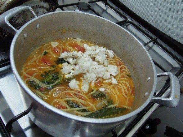 Pescada com Esparguete (6)