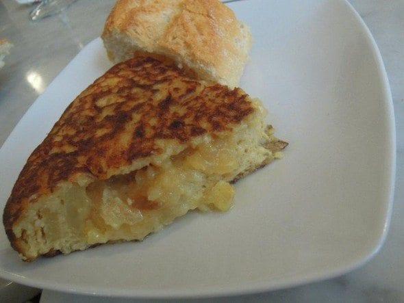 Tortilha de Batata - Taberna del Alabardero em Madrid