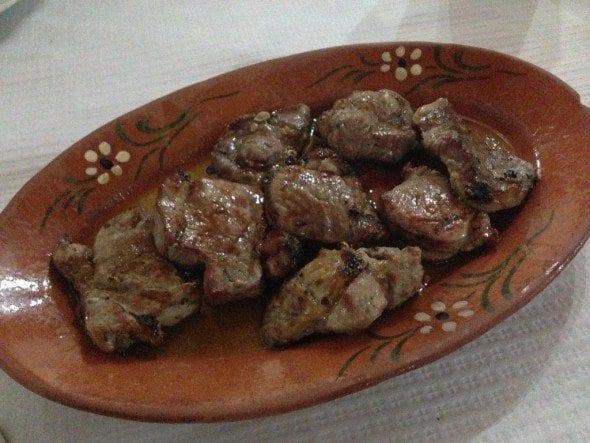 Lombinhos de Porco da Taberna da Rita - Pinheiro Grande