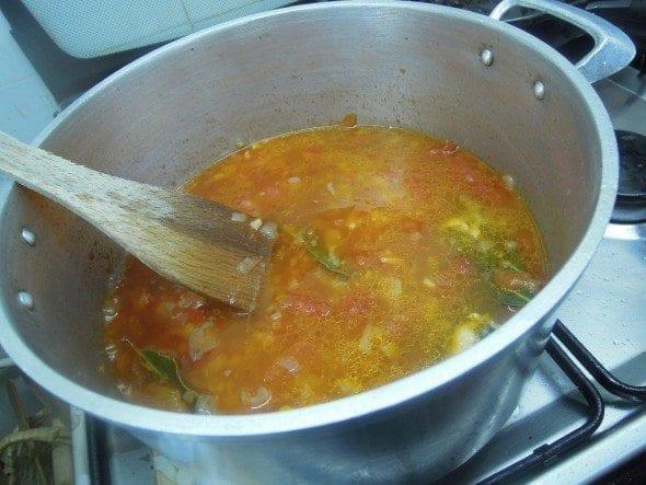 4 fettuccine com mexilhão e tomate - Fettuccine com Mexilhão e Tomate