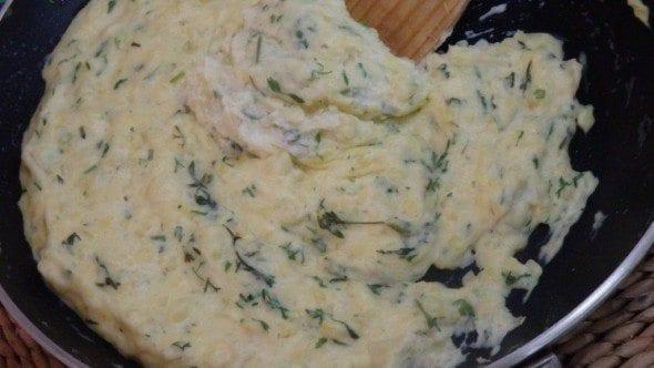 7 esmagada de batata com natas e coentros - Esmagada de batata com natas e coentros