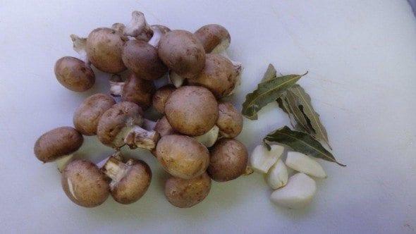 1 cogumelos marron com esparguete fresco - Cogumelos Marron com Esparguete Fresco