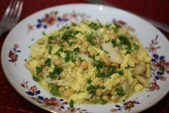 6 ovos mexidos de bacalhau com grão Ovos Mexidos de Bacalhau com Grão 67 590x394