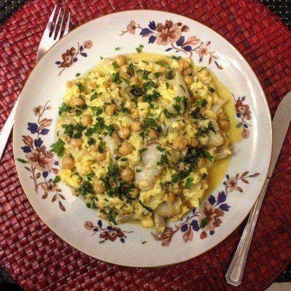 7 ovos mexidos de bacalhau com grão Ovos Mexidos de Bacalhau com Grão 76 590x590