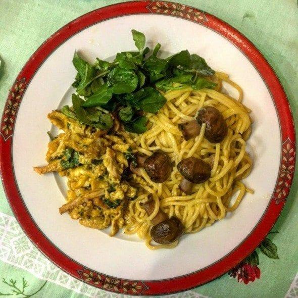 Cogumelos Marron com Esparguete Fresco cogumelos marron com esparguete fresco - Cogumelos Marron com Esparguete Fresco