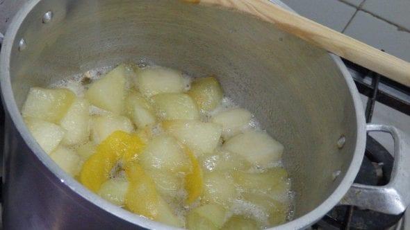Doce de melão com piripiri